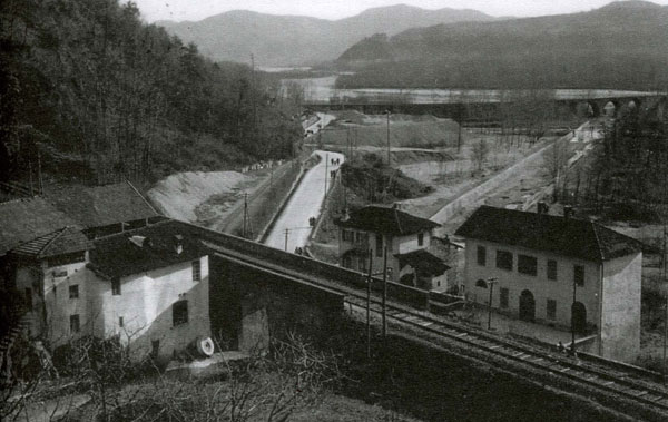 """Foto d'epoca della località """"Molino Jannetti"""""""