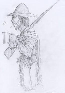 Disegno del Badich,  di Edoardo Campagnolo