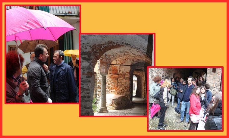 Immagini della visita  a Guardabosone