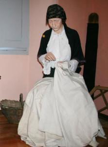 Museo di Prazzo, la ricamatrice