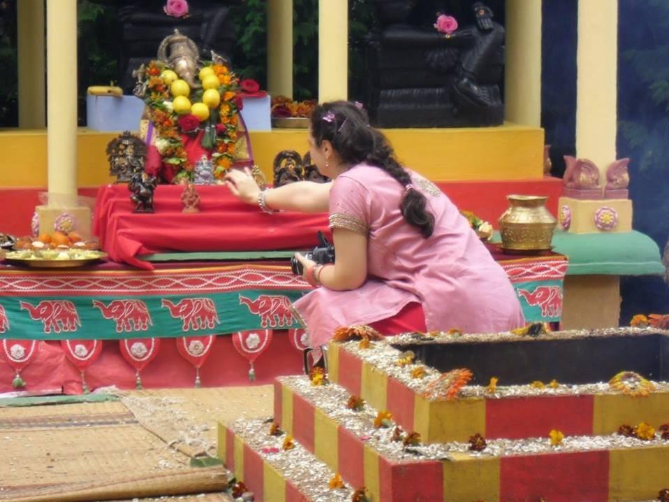 Altare di Ganesh