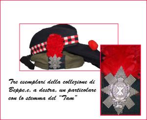 tre cappelli scozzesi