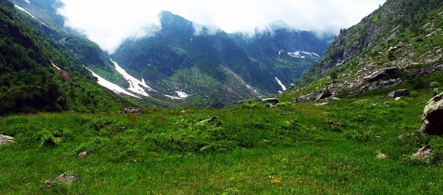 Alta val Sorba, 1400 m slm