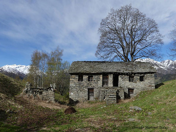 Alpe Piano dell'Erba, Campertogno- Un fabbricato rurale