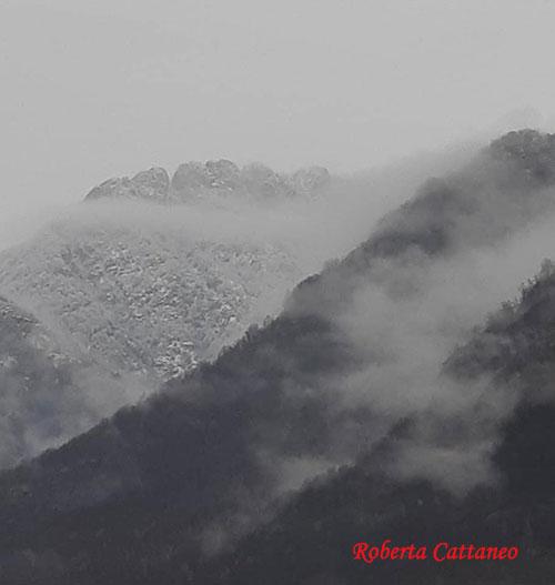 Neve di primavera sui monti