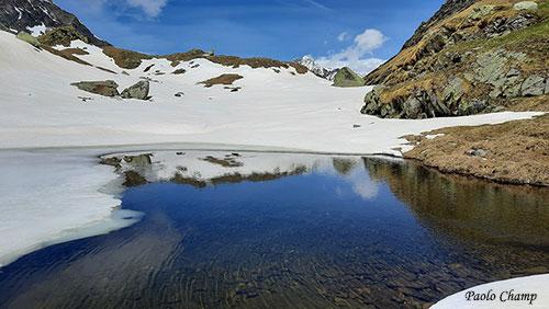 Laghetto nel gelo, Alpe Maccagno